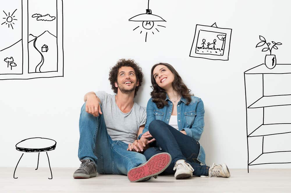 Par sitter med ideer och undrar hur mycket de kan låna