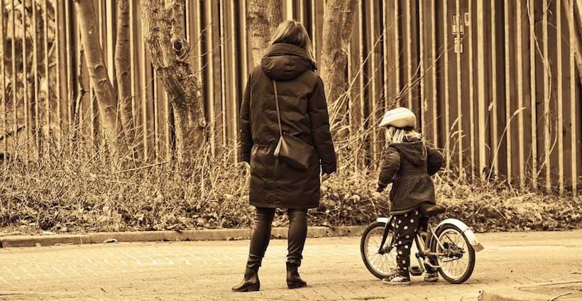 Ensamstående med barn