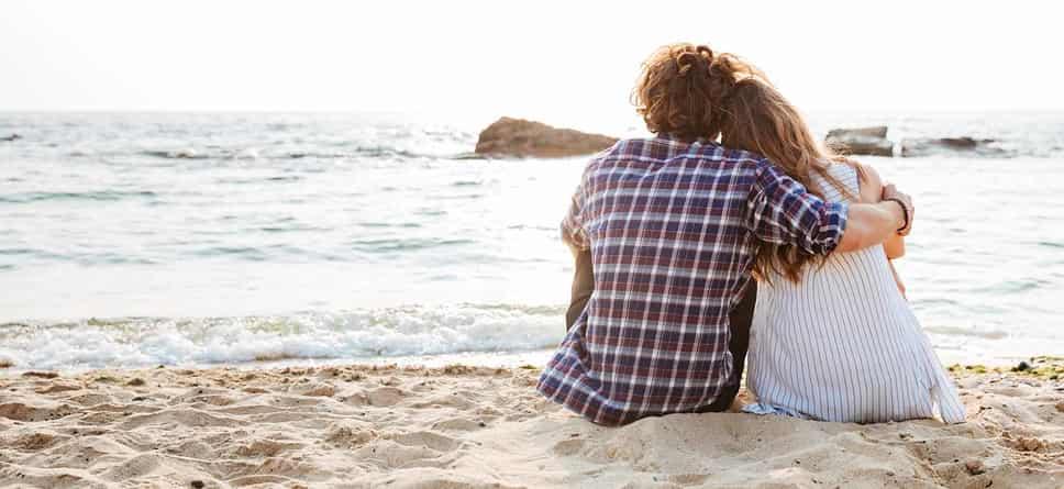 Kram på stranden