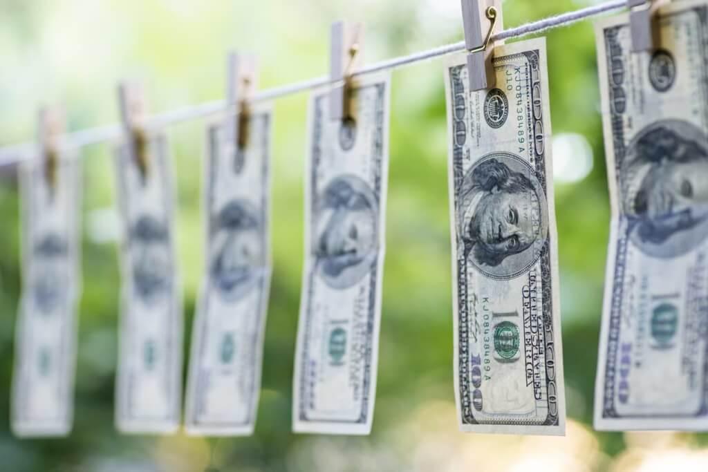 Avgift penningtvätt