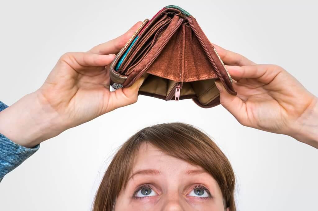 Slut på pengar januari